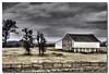 McPherson Barn on Gettysburg battlefield..a painting.. (Roger Photos) Tags: gettysburgfeb2018 nef gettbysburg civil war