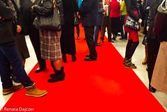 Dazzling Red Carpet (kaprysnamorela) Tags: dazzling red carpet legs shoes black philharmonia exhibition kielce poland nikond3300