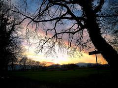 Laggiù il mio paese, ci sono i tramonti più belli. (Tilly Sfortunato) Tags: tramonto sunset roccasecca ciociaria