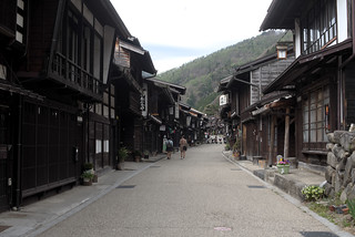 Narai View(奈良井宿の景色)