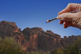 Paint the Sky (with Arizona Sky Blue)