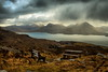 Waiting For A Friend (jakeof) Tags: scotland lochtorridon clouds water shower snow