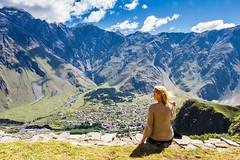 2016 09 015_Kazbegi (artem.kuznetsov80) Tags: landscape relative birdseyeview mountain wife