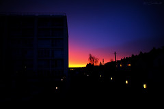 A New Beginning (HiJinKs Media...) Tags: sunrise sky colori colors colours colores silhouette dark lights light life morning nature bristol