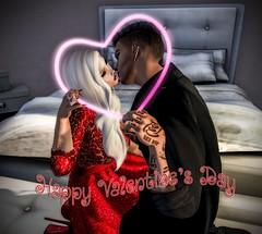 Happy Valentine's Day (Pippa Valentino (Pippa Rosca)) Tags: valentine secondlife love heart