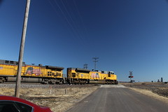 56931 (richiekennedy56) Tags: unionpacific sd70ace ac44cw up8668 up6360 kansas shawneecountyks topeka menoken railphotos unitedstates usa