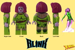 PG368 - X-Men's Blink Review (LEGO S.H.I.E.L.D Agent Swifty) Tags: xmen marvel superheroes lego bootlego bootleg pg368 pogo mutant the gifted dofp