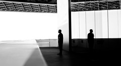 (relishedmonkey) Tags: nikon d5300 louvre abu dhabi design art museum uae lines black white monochrome 35mm 18g
