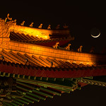 Moon on a roof thumbnail
