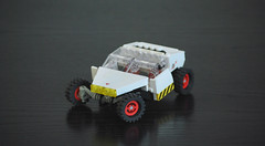 White version of a G108 (taxonlazar) Tags: space spaceman classic classicspace canopies rover febrovery2018 febrovery