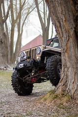 Jeep & Snow -6 (sammycj2a) Tags: willys jeep snow nikon rockcrawler winch factor55 ogden utah