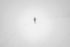 Lost in the snow (Helena Normark) Tags: whiteout heavysnowfall snowfall snow winter leinstrand trondheim sørtrøndelag norway norge sonyalpha7 a7 35mm lensbaby burnside35 lensbabyburnside35 lensbabylove seeinanewway