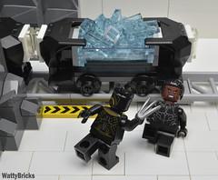 Vibranium Mine (WattyBricks) Tags: lego marvel supeheroes 76099 mcu black panther tchalla erik killmonger golden jaguar wakanda vibranium