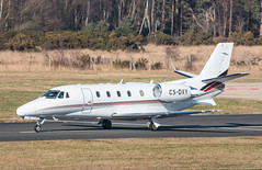 EGLF - Cessna 560XL Citation XLS - CS-DXY (lynothehammer1978) Tags: eglf fab farnborough farnboroughairport csdxy cessna560xlcitationxls