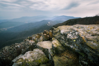 Rocks of Stony Man and Skyline Drive