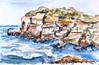 Sketching at Malabar Headland (Winam) Tags: malabar maroubra nsw drawing painting