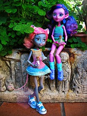 (Linayum) Tags: kjerstitrollson mouscedesking mh monsterhigh monster mattel doll dolls muñeca muñecas toys toy juguetes ganchillo handmade crochet linayum