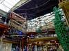 Destiny USA Skywalk (pecooper98362) Tags: syracuse newyork onondagacounty shoppingmall destinyusa wonderworks skywalk ropepaths platform stairs nets safetyharness skylight funforallages