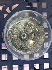 Saude, Cheers (soniaadammurray - On & Off) Tags: iphone wine glass table terracefloor exterior cheers toast quotes georgesterling tedkennedy clinks glory friendships macro macromondays