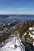 Fløibanen - - Funicular to the mountains (erlingsi) Tags: bergen norway funicular fløibanen fløyen noreg hordland winter byfjorden fjorden
