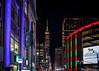 34th Street (USpecks_Photography) Tags: nyc newyorkcity manhattan empirestatebuilding pennstation 34thstreet nightshot nightphotography illumination neonlights colors