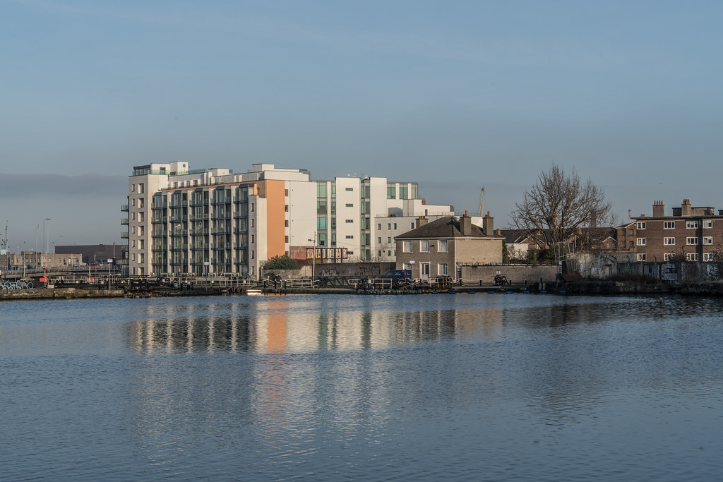 GRAND CANAL DOCK AREA OF DUBLIN [PHOTOGRAPHED 11 JANUARY 2018]-135434