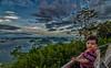 Diego no topo do Pão de Açucar (mcvmjr1971) Tags: trilhandocomdidi d7000 bondinho cablecar f28 mmoraes nikon pordosol pãodeaçucar riodejaneiro sugarloaf sunset tokina1116mm vistadecima explorer explore wonderful amazing surreal colors city