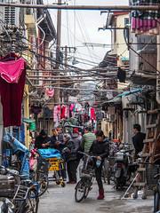 LR Shanghai 2016-504 (hunbille) Tags: birgitteshanghai4lr shanghai china dananmen district dananmendistrict xiaonanmen metro station xiaonanmenmetrostation family qiaos road familyqiaosroad