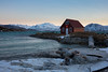 The red house (Role Bigler) Tags: norway house red sea winter wintertime cold mountains
