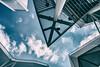 Angels (*Capture the Moment*) Tags: 2017 berlin cablecar clouds condominium gondelbahn himmel houses häuser iga internationalgardenfair olympusxz2 olympusxz2stylus seilbahn sky suburb wetter wolken analog analogue cloudy wolkig