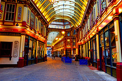 LEADENHALL MARKET, LONDON by GULFAN AFERO GAFUR -