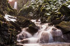 Darwen January 18 (stetoppingphoto) Tags: darwen lancashire wet day snow lancs carl zeiss sony a7 alpha 55mm f18 za fe waterfall long exposure