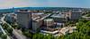 Wits University, Johannesburg (Paul Saad) Tags: wits university architecture johannesburg pano panorama panoramic city cityskapes sky blue randlords