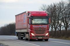 MB Actros 1845 MP4 BigSpace / ZET (UA) (almostkenny) Tags: lkw truck camion ciężarówka mb mercedesbenz actros mpiv mp4 bigspace 1845 ua ukraine zet zakarpatevrotrans ao ao1054ch закарпатєвротранс