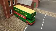1966 Bedford Van (Reiver RE229) Tags: bedford furniture van matchbox toy tanker bp youngs