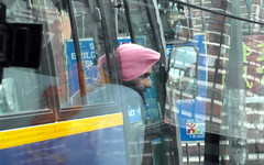 pink turban (kexi) Tags: delhi india asia man beard turban pink reflection samsung wb690 february 2017 profile instantfave