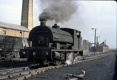 JMB T55 23 Pegswood Colliery NCB 0-6-0ST No.8 Peckitt No.1971 of 1939 25031968 (Ernies Railway Archive) Tags: ncb pegswoodcolliery lner ner ecml