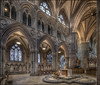 Lichfield Cathedral 4 (Darwinsgift) Tags: lichfield cathedral interior nikkor 19mm pc e f4 tilt shift photomerge perspective architecture religious church england
