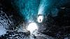 T H E   V I S I T O R (stephan mantler) Tags: treasureisland ice háfjall icecave glacier treasureislandicecave eishöhle gletscher gletscherhöhle glaciercave glaciers
