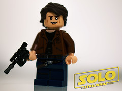 Solo (Just Bricks) Tags: lego han solo minifigure brickarms figbarf
