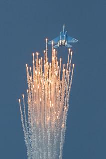 Aerial display of RSAF F-15SG