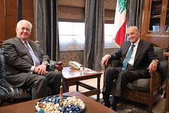 Secretary Tillerson Meets With Parliament Speaker Nabib Berry (U.S. Department of State) Tags: rextillerson lebanon beirut nabibberry
