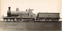 Lancashire & Yorkshire Railway (UK) - LYR 4-4-0 steam locomotive Nr. 1007 (Beyer Peacock Locomotive Works, Manchester-Gorton  2872-2901 / 1888) (HISTORICAL RAILWAY IMAGES) Tags: steam locomotive bp beyerpeacock manchester gorton lyr lancashire yorkshire railway 440