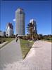 Miami South Beach: the Continuum (Todron) Tags: pentax pentax645n pentax645 645 45x6 120 220 mediumformat medioformato filmcamera film 45mm 45mmf28 wide wideangle grandangolo