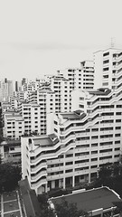 S8 First time on phone camera (_H4N_) Tags: singapore concrete modern brutalist house