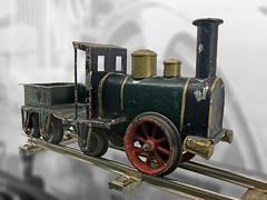 Early Märklin Model Locomotive (Nick_Fisher) Tags: märklin modellbahnen rain steam speed nickfisher model railway goppingen