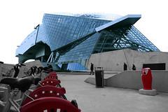 Lyon – Musée des Confluences (Le.Patou) Tags: lyon confluence architecture building modern architecte graphique graphic effect urban urbanisme city cité cities cityscape line ligne blue musée museum forme shape