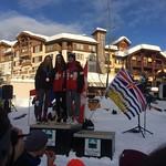 Women's GS - BC Winter Games 2018:   1- Kaïla Lafrenière;  2- Sara Stiel; 3- Talyn Lorimer