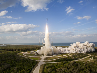 GOES-S Satellite Lifts Off
