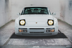 PORSCHE 944 (JAYJOE.MEDIA) Tags: porsche 944 low lower lowered lowlife stance stanced bagged airride static slammed wheelwhore fitment